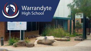 warrandyte high school