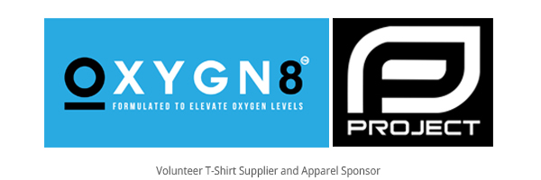 Oxygn8 and Project Clothing Logos
