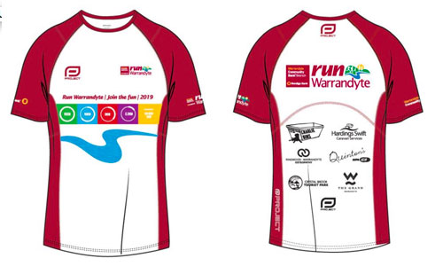 run warrandyte t-shirts