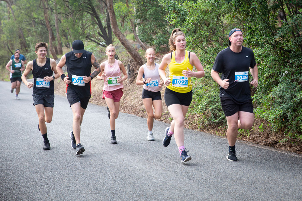 running tracks in warrandyte