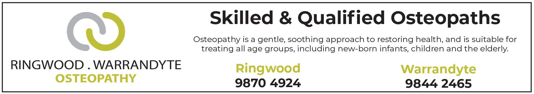 ringwood warrandyte osteo